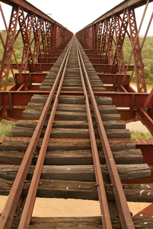 Old Ghan Line | Bridge